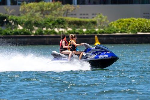 Women Riding a Jetski