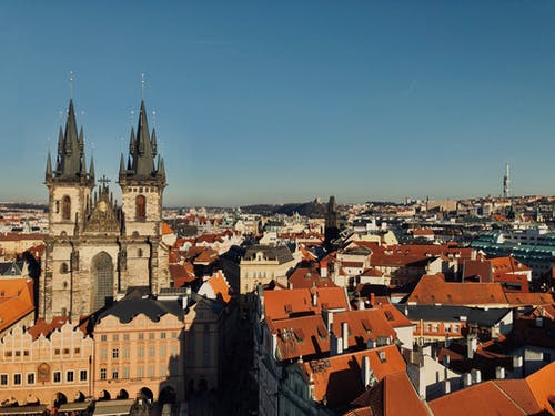 公共广场, 哥德式, 城堡 的 免费素材图片