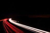 road, lights, night