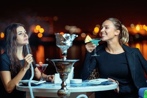 Безкоштовне стокове фото на тему «shisha, алкогольні напої, вечір»