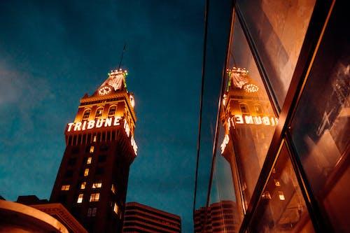 Ảnh lưu trữ miễn phí về ánh sáng, cảnh quan thành phố, cửa sổ