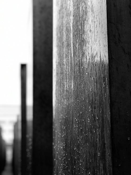 Free stock photo of berlin, big city, black and white