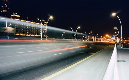 Kostenloses Stock Foto zu abend, asphalt, aufnahme von unten, autobahn