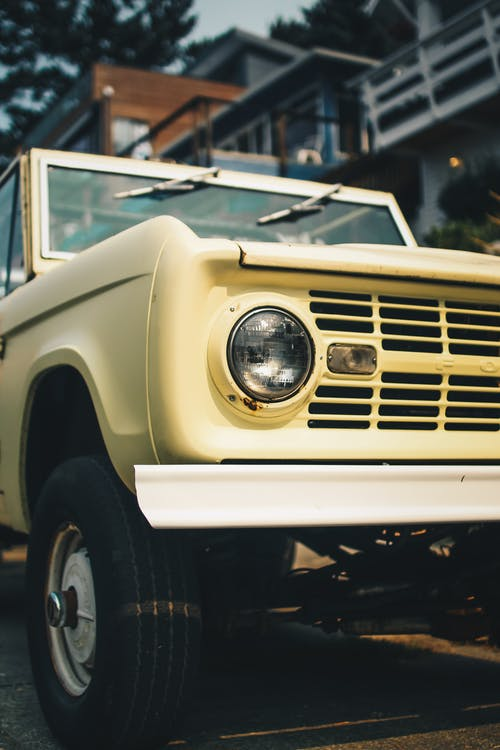 Free stock photo of beach, bronco, car, chill
