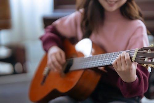 Foto stok gratis akord, akustik, alat musik