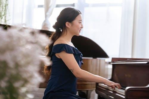 Ilmainen kuvapankkikuva tunnisteilla ääni, aasialainen nainen, asu