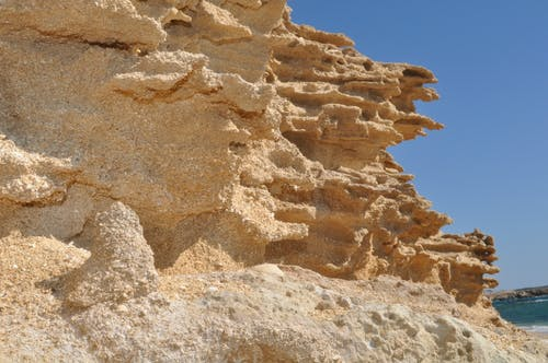 Free stock photo of erosion