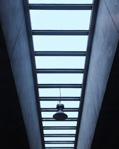 Black Pendant Lamp Turned Off