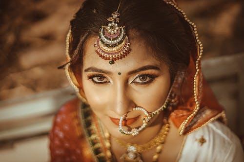 Free stock photo of art, beads, bride