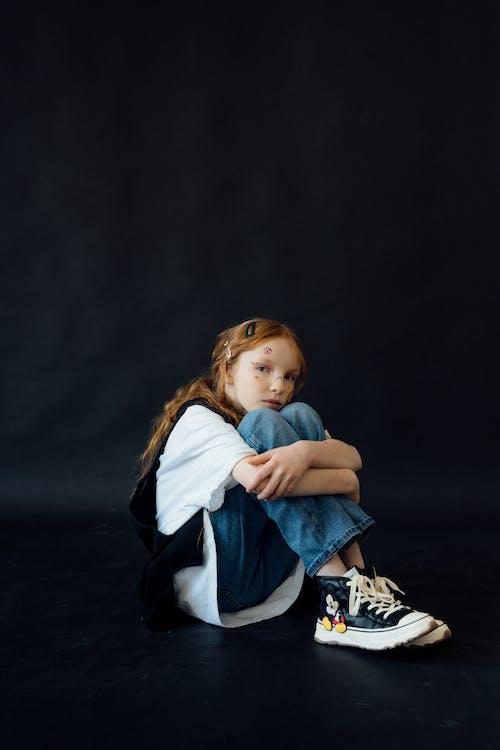 Immagine gratuita di adesivi, bambino, capelli