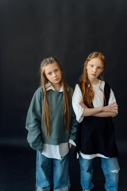 Fotos de stock gratuitas de adolescente, amistad, atuendo