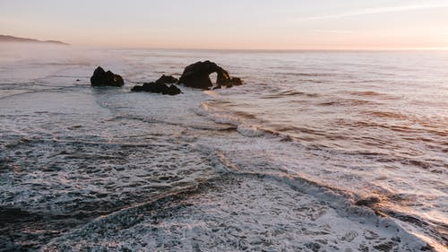 Free stock photo of aesthetic desktop background, at the beach, bay area