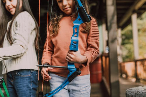Free stock photo of adolescent, adult, archer