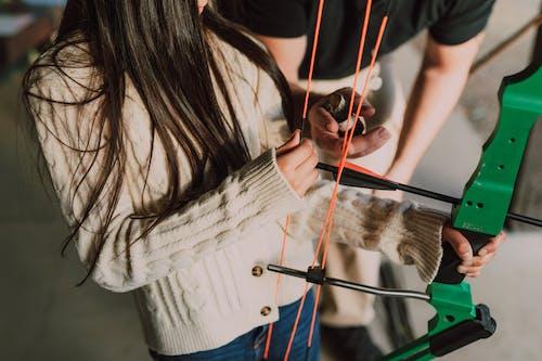 Free stock photo of adult, archer, archery addict