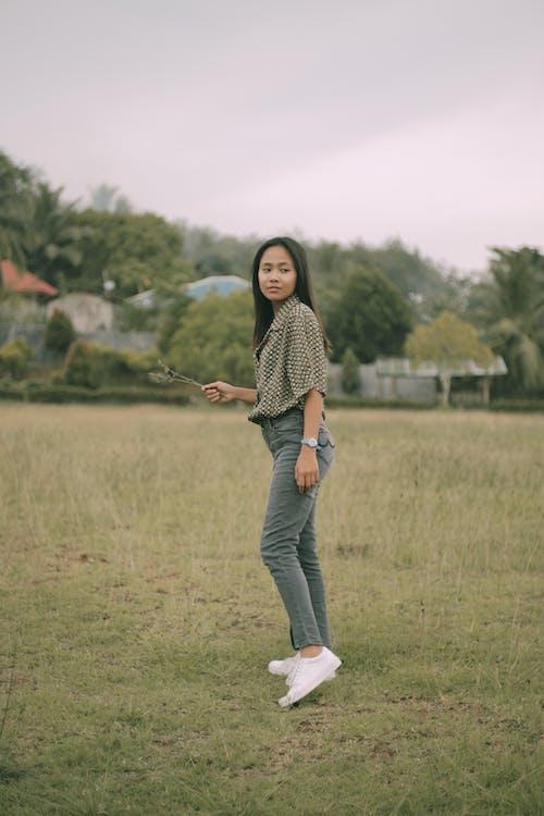 不情緒化, 亞洲女人, 亞洲女性 的 免費圖庫相片