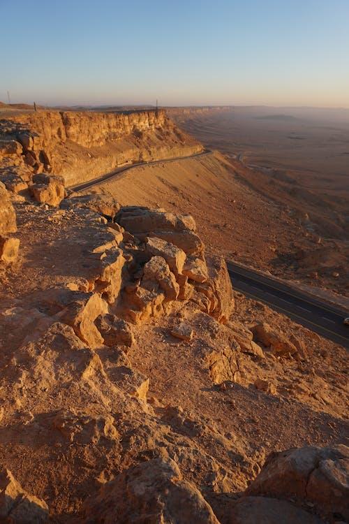 Ilmainen kuvapankkikuva tunnisteilla aamu, aamunkoitto, aavikko