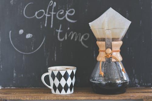 Fotobanka sbezplatnými fotkami na tému chemex, hrnček, káva, nápoj