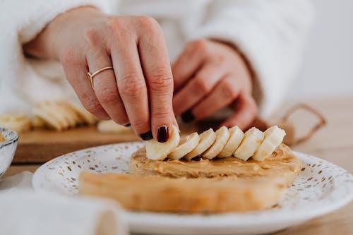 건강식품, 바나나, 슬라이스 조각의 무료 스톡 사진