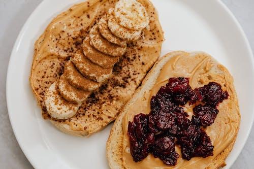 Foto d'estoc gratuïta de fotografia d'aliments, mantega de cacauet, menjar saludable