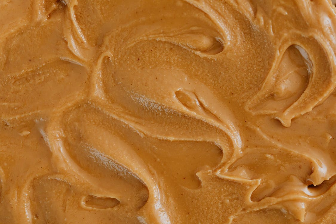 Extreme Close Up Photo of Creamy Peanut Butter