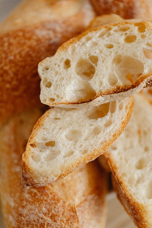 Close Up Photo of Bread
