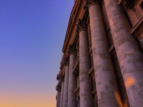 A Close-Up Shot of St Peter's Basilica