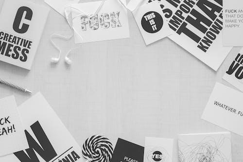 คลังภาพถ่ายฟรี ของ ก็อปปี้, ขาว, ขาวดำ, ความคิดสร้างสรรค์