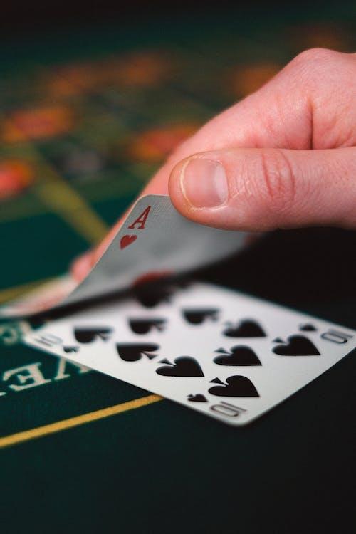 10 of Spade Playing Card