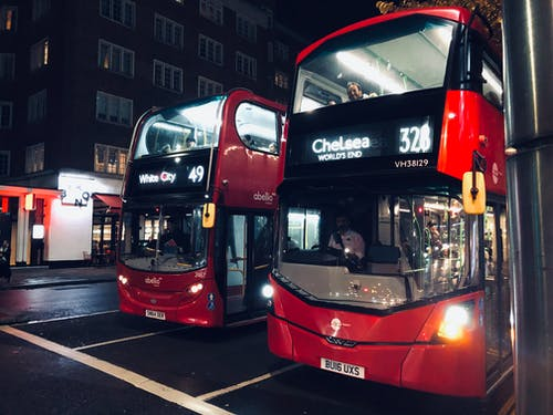 Free stock photo of bus stop, central london, citytrip