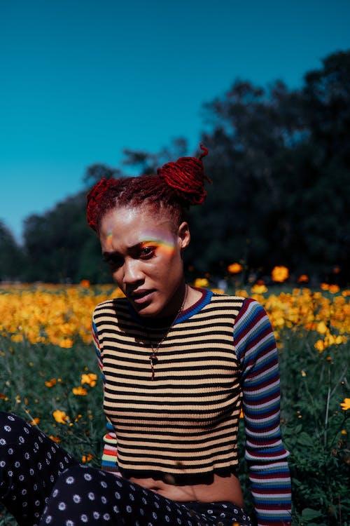 Ilmainen kuvapankkikuva tunnisteilla afroamerikkalainen, asento, auringonlasku