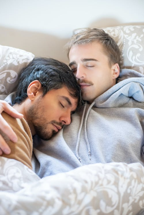 Free stock photo of affection, bed, bedroom, comfort