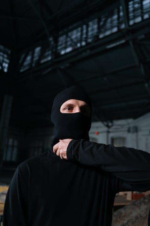 Free stock photo of anonymous, authority, balaclava