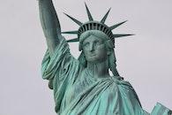 new york, Statue of Liberty, statue