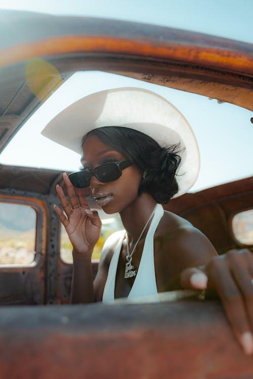 Бесплатное стоковое фото с Авто, автомобиль, афро-американка
