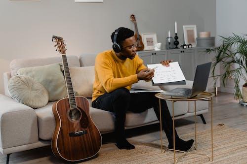 Free stock photo of acoustic, adult, audio equipment