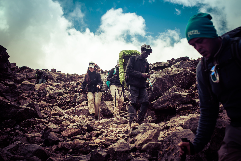 Four Man on Mountain