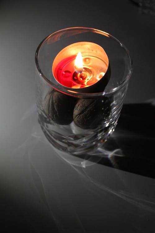 Free stock photo of candle, design, ellegant, fire
