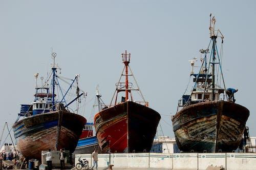 Imagine de stoc gratuită din barcă, năvodar