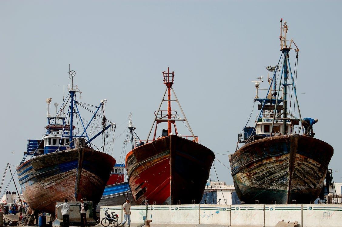 αλιέας, βάρκα, σκάφος