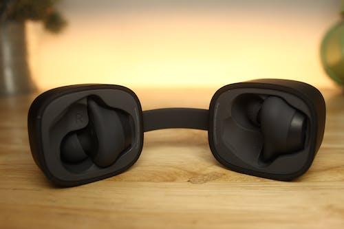 Free stock photo of earbuds, earphones, headphones