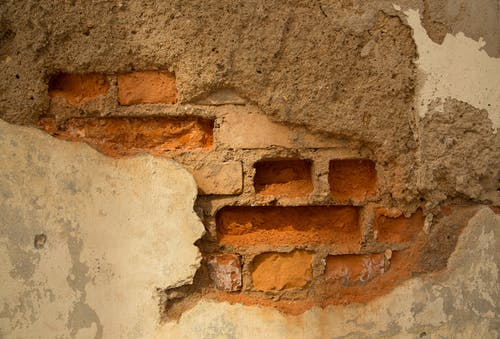 Free stock photo of brick wall, bricks, erosion