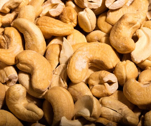 Free stock photo of cashews, nuts, snacks