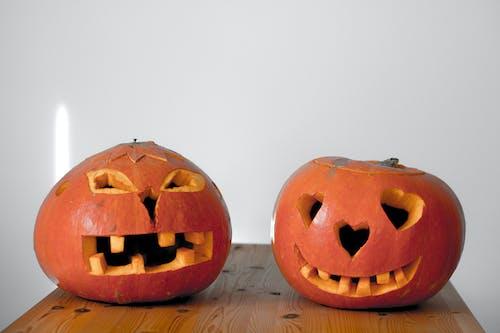 Gratis lagerfoto af appelsin, Halloween, halloween dekorationer, part