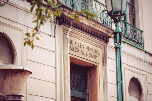 The Allen Memorial Medical Library Sigange