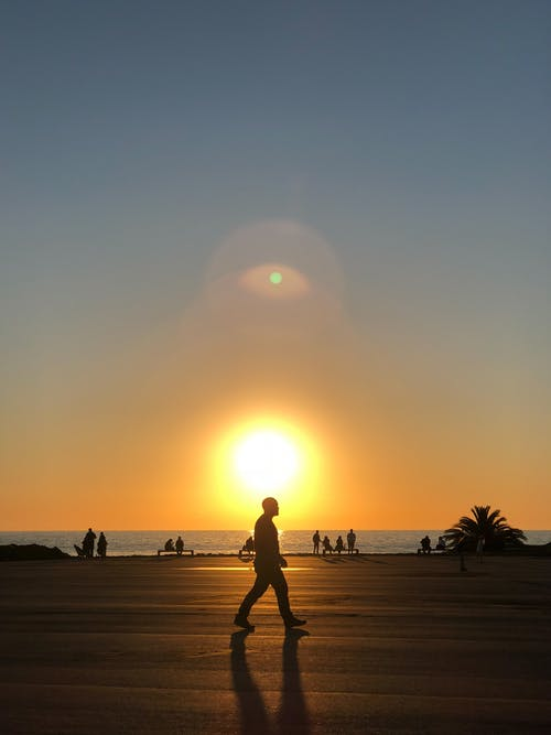 Free stock photo of Atardecer, beach, coast