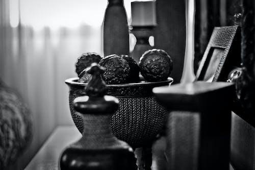 Imagine de stoc gratuită din alb-negru, antichități, estompare, în interior