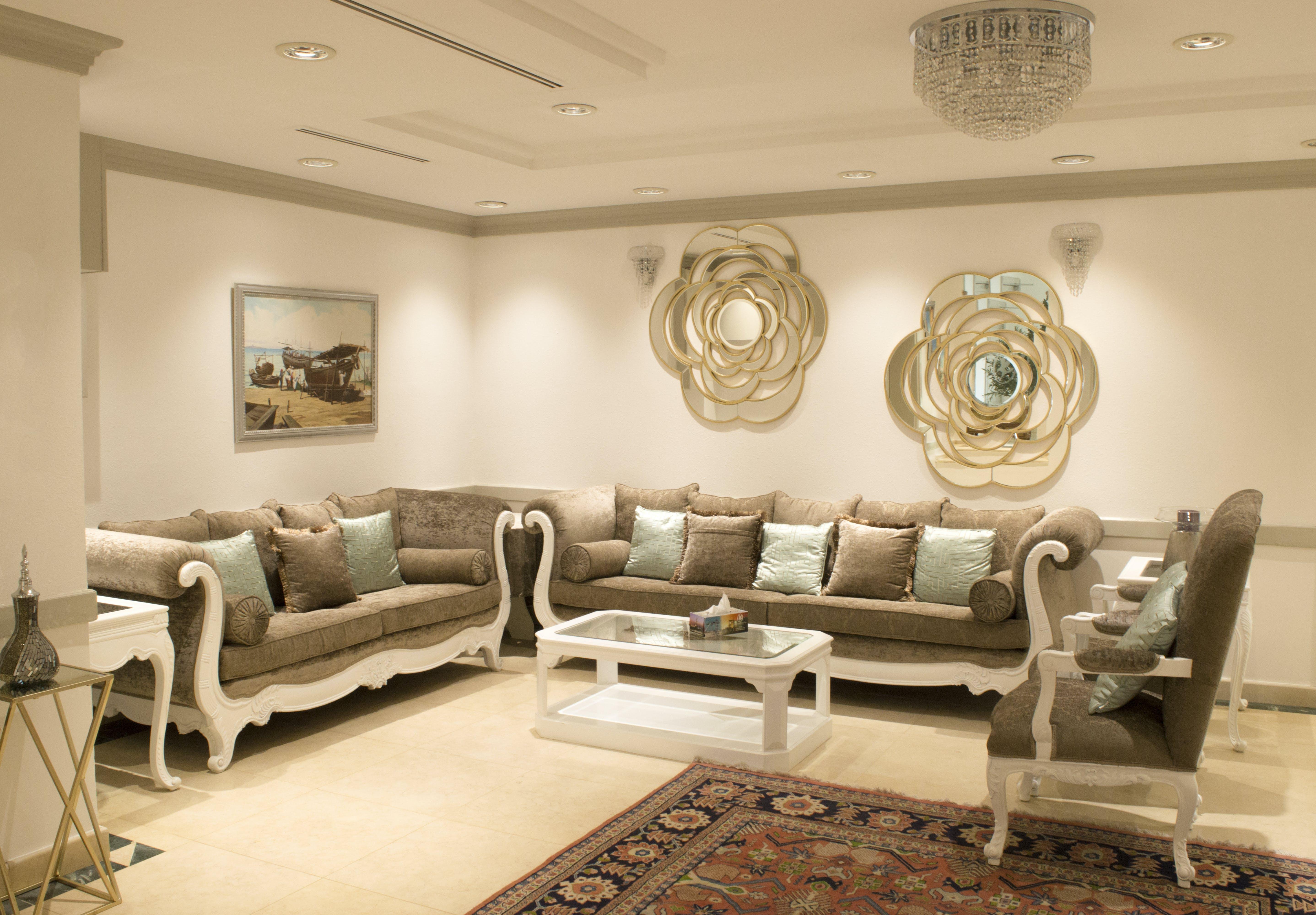 Free stock photo of lounge, furniture, sofas, formal lounge