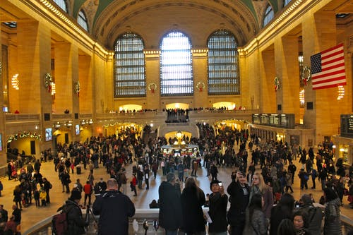 Free stock photo of crowd, crowds, grand central station