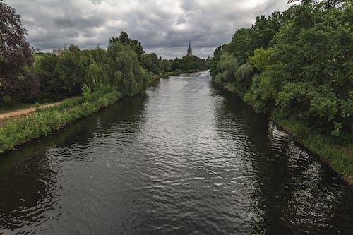 poczdam, 下雨前, 德國, 桥梁视图 的 免费素材照片