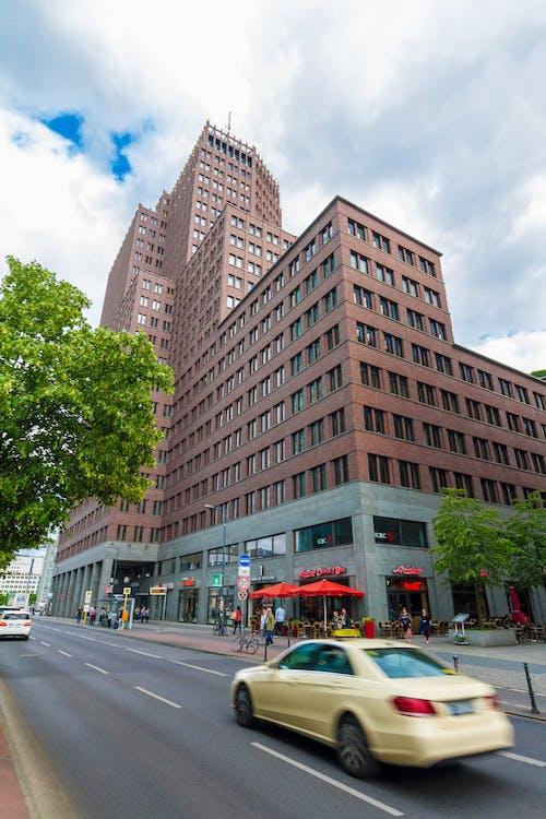 市中心, 建造, 摩天大樓, 柏林 的 免费素材照片